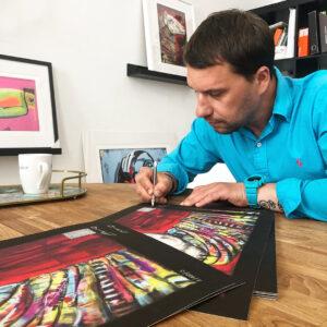 "Fine Art Prints - Wojciech Brewka sygnuje printy ""Glamour"""