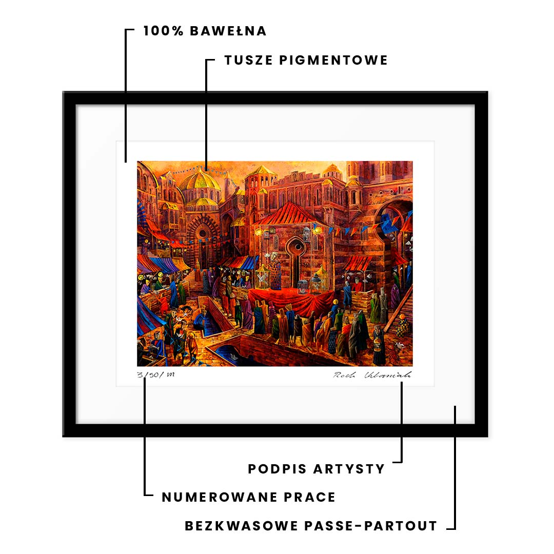 Muzealna Jakość Fine Art Prints